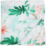 2 Pack Extra Large Floral Bamboo Muslins