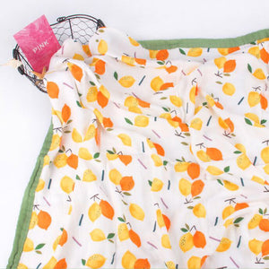 Four Layer Citrus Bamboo Blanket