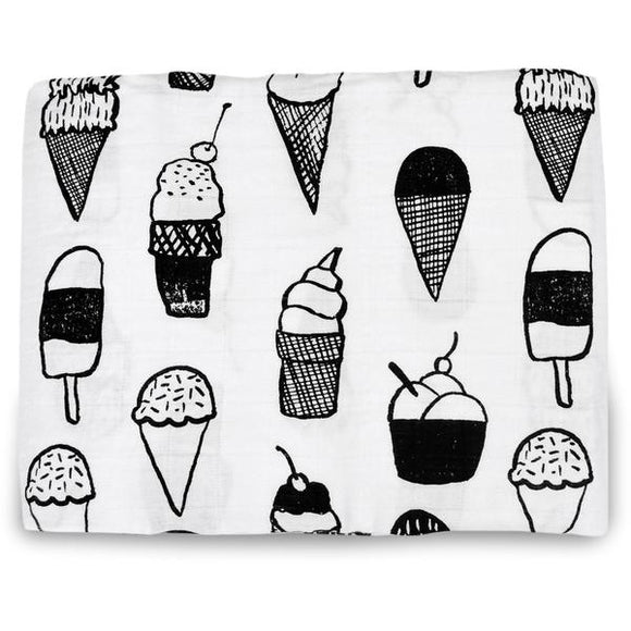 Extra Large Ice Cream Cotton Muslin