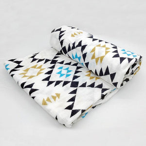 Extra Large Geo Cotton Muslin
