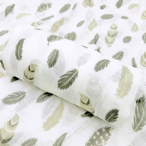 Extra Large Feather Cotton Muslin