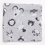 2 Pack Animal Bamboo Muslin Squares