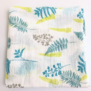 Extra Large Fern Cotton Muslin
