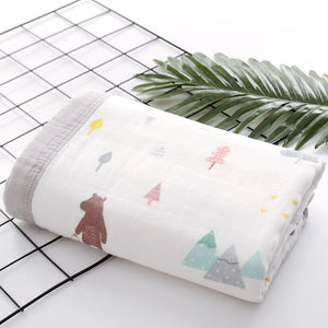 Six Layer Bear Cotton Blanket