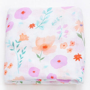 Extra Large Wildflower Bamboo Muslin