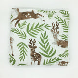 Six Layer Deer Cotton Blanket
