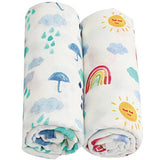 2 Pack Extra Large Weather Bamboo Muslins