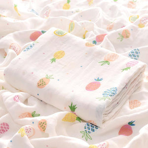 Extra Large Fruity Bamboo Muslin
