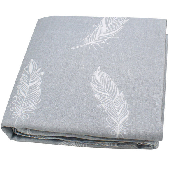 Extra Large Feather Bamboo Muslin