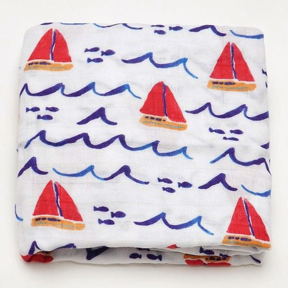 Extra Large Boat Bamboo Muslin
