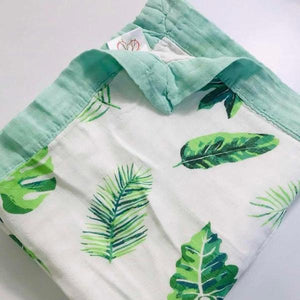 Four Layer Jungle Bamboo Blanket