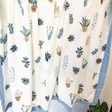 Four Layer Cacti Bamboo Blanket