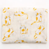 Extra Large Kitty Bamboo Muslin