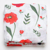 Extra Large Poppy Cotton Muslin