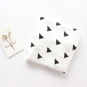 Extra Large Triangle Bamboo Muslin