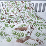 Extra Large Deer Cotton Muslin
