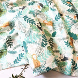 Extra Large Rainforest Bamboo Muslin