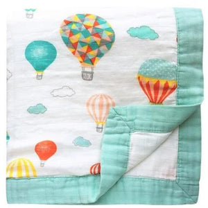 Four Layer Balloon Bamboo Blanket