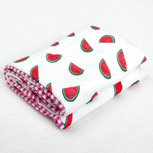 Four Layer Watermelon Bamboo Blanket
