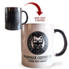 Colour Morphing Mug - Strong. Rich. Smooth. Mugs Rampage Coffee Co.