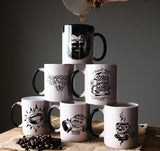 Colour Morphing Mugs - Artistic Series Mugs Rampage Coffee Co.