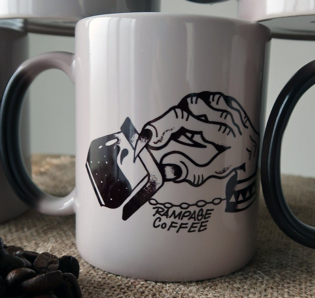 Colour Morphing Mugs - Artistic Series Mugs Rampage Coffee Co. Cuffed