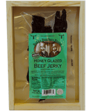 Honey glazed beef jerky