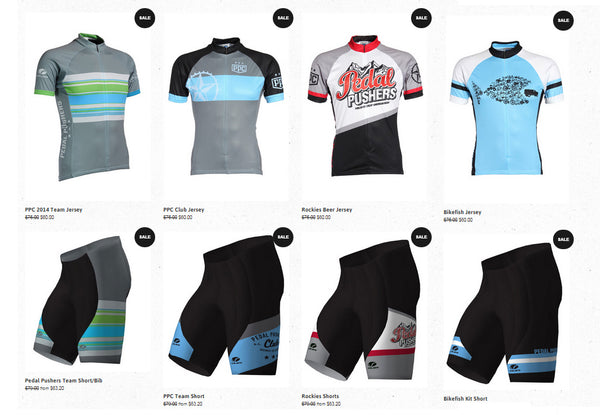 pedal pushers cycling jersey