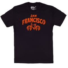 san francisco cycling t-shirt