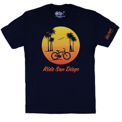 ride san diego bicycle t-shirt