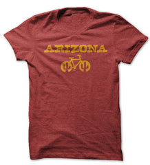 arizona cycling shirt asu colors