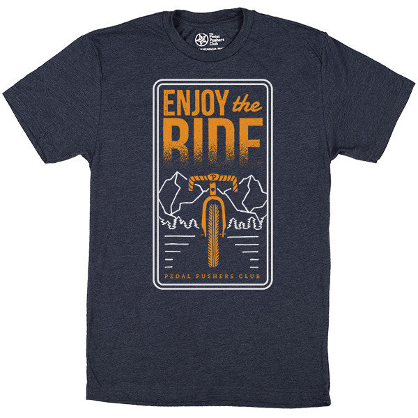 enjoy the ride t-shirt
