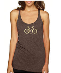 ladies mountain bicycle tank tee