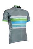 pedal pushers stripes cycling jersey