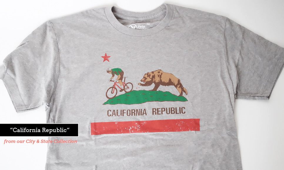 California bike t-shirt