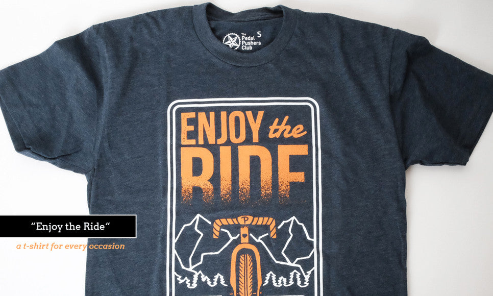 pedal pushers bike t-shirts
