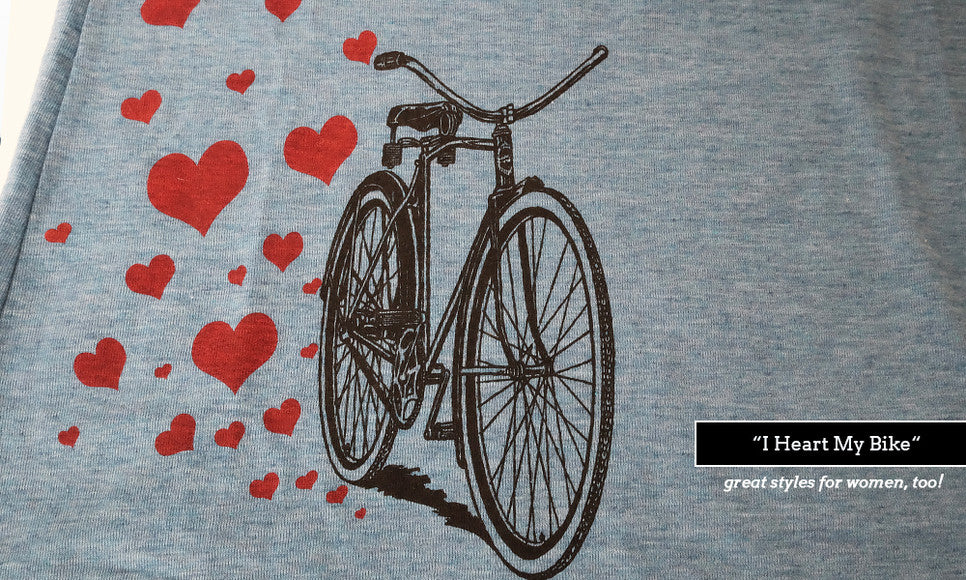 Ladies cycling tees