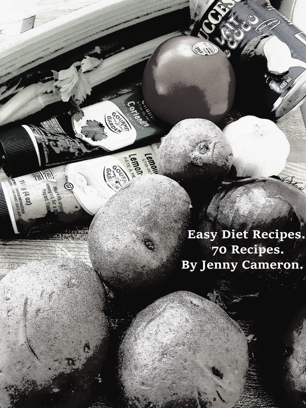 Easy Diet Recipes 70 Recipes by Jenny Cameron. Download Ebook.