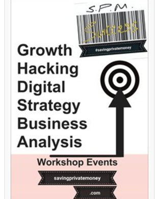 Grow your business via growth hacking, digital strategy & business analysis. Download Ebook.