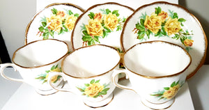 Tea Rose by Royal Albert Collection, Bone China, England. Vintage.