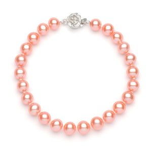 Full Set of 7.0-8.0 mm Pink Freshwater Pearls