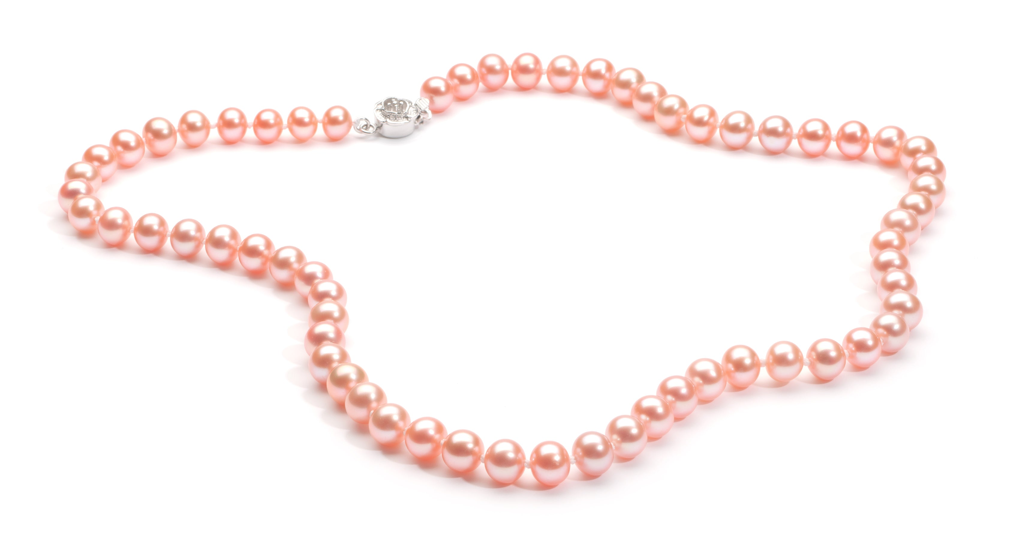 6.0-7.0 mm Pink Freshwater Pearl Necklace
