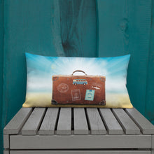 Load image into Gallery viewer, Let's Travel - Premium Pillow