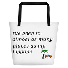 Load image into Gallery viewer, Traveler Beach Bag