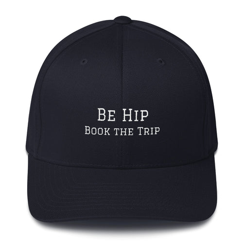 Be Hip - Book the Trip, Structured Twill Cap
