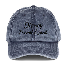 Load image into Gallery viewer, Disney Travel Agent - Vintage Cotton Twill Cap