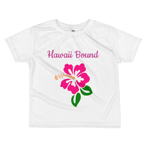 Hawaii Bound -  kids T-shirt