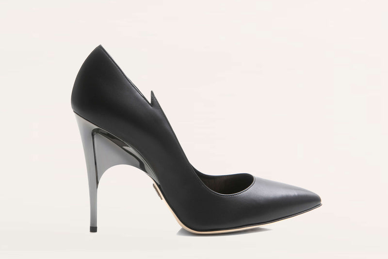 leather pump