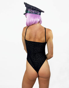 Wildside BodySuit in Black- Festival Fashion and Accessories Peach Pops