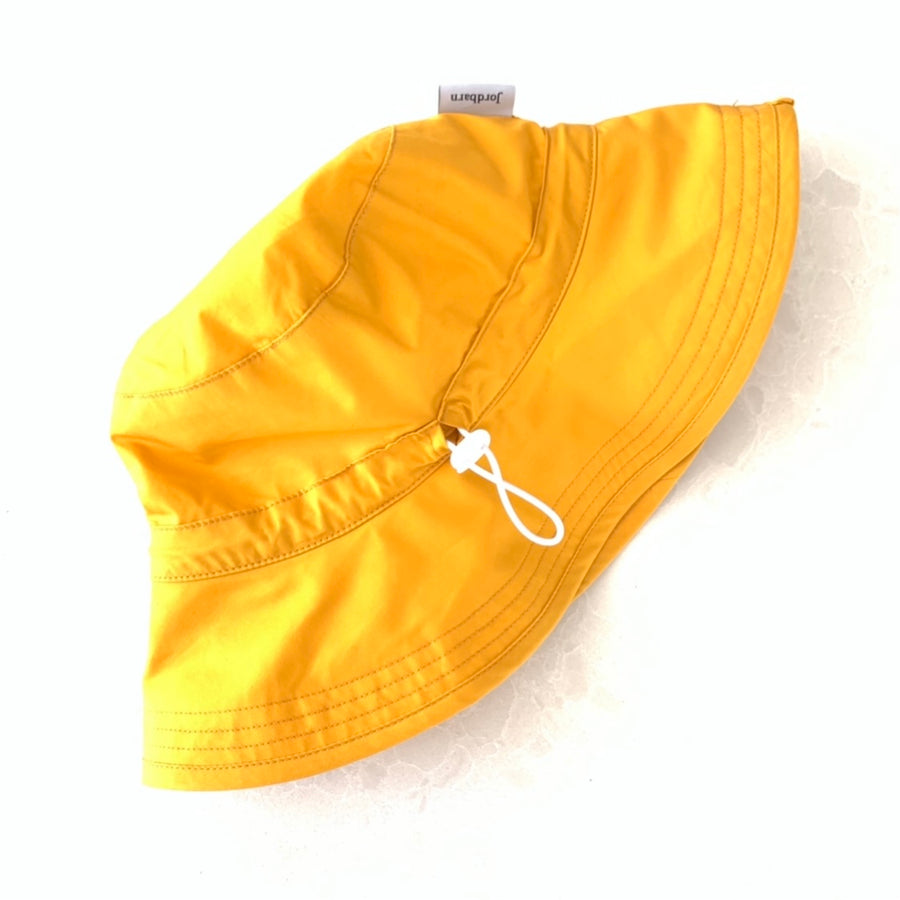 Kids Primary School Bucket Hat - UPF 50+ Yellow